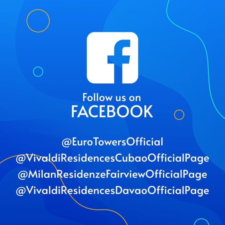 FOLLOW US ON OUR SOCIAL MEDIA PAGES FOR MORE UPDATES!